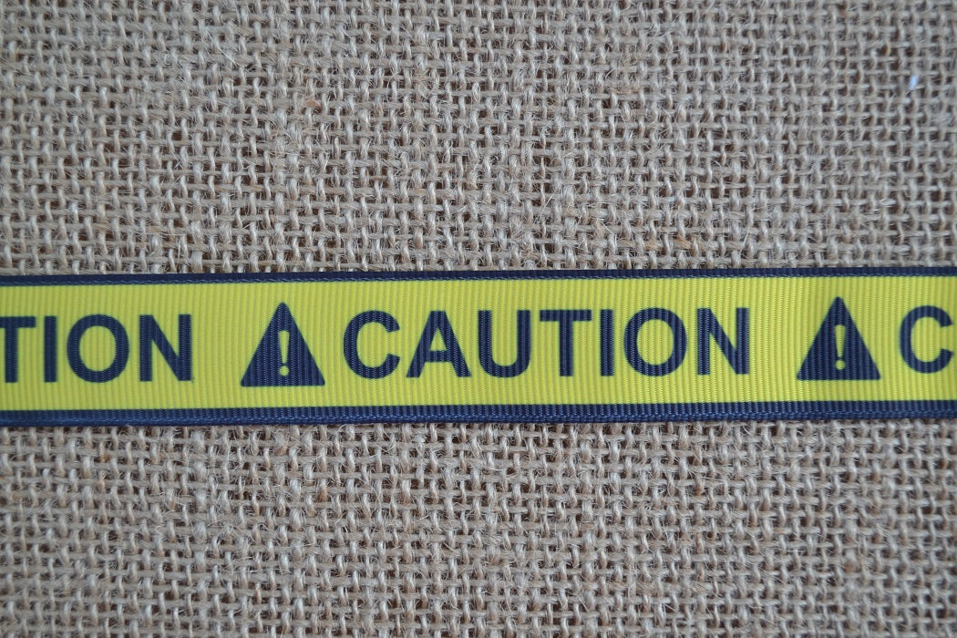 dog collar caution