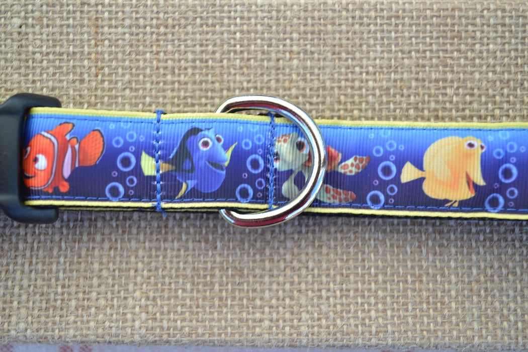 dog collar disney pixar nemo