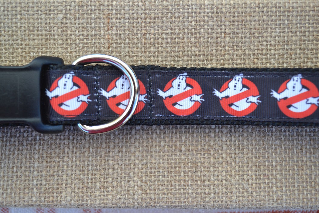 ghost busters dog collar