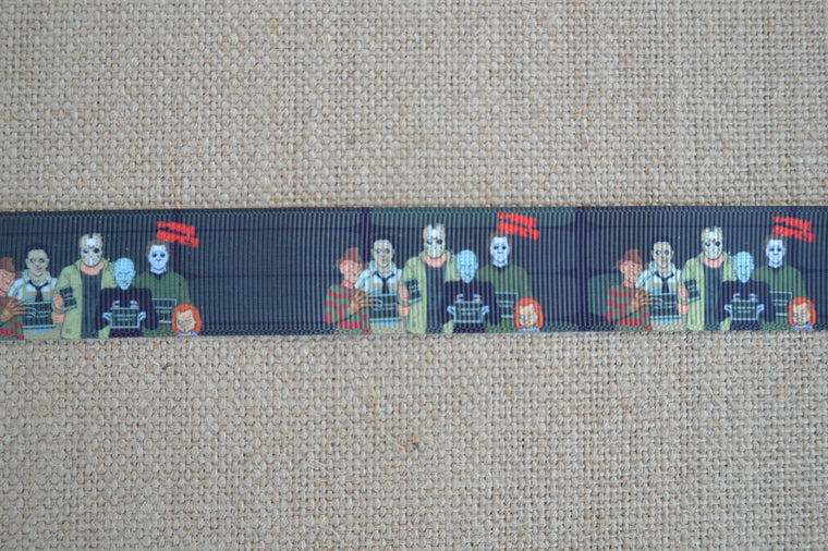 dog collar freddy kruger chuckie jason frankenstein michael myers