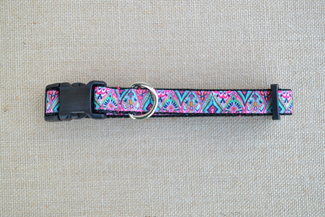 Lilly Pulitzer Inspired Bejeweled Dog Collars