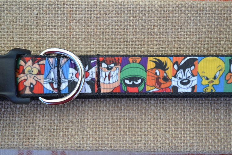 looney tunes dog collar
