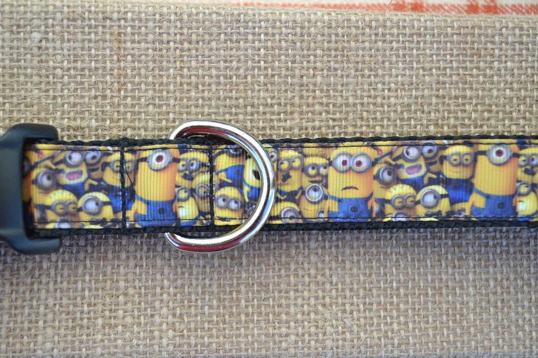Despicable me minions dog collar