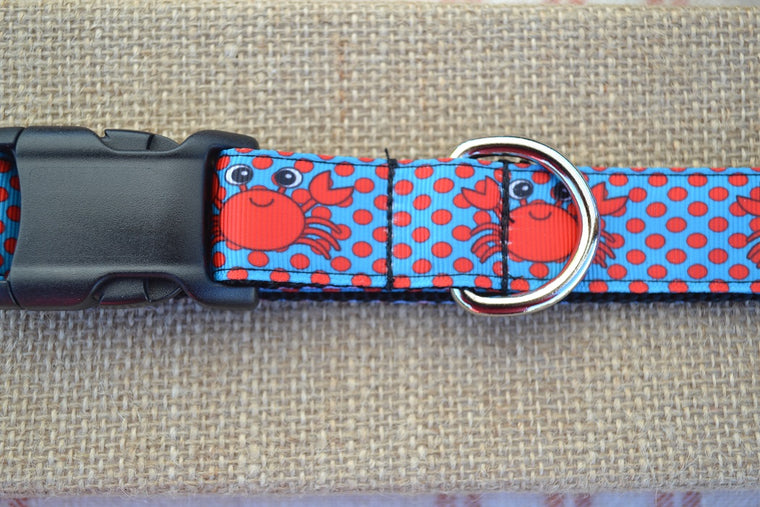 dog collar crab crabby preppy