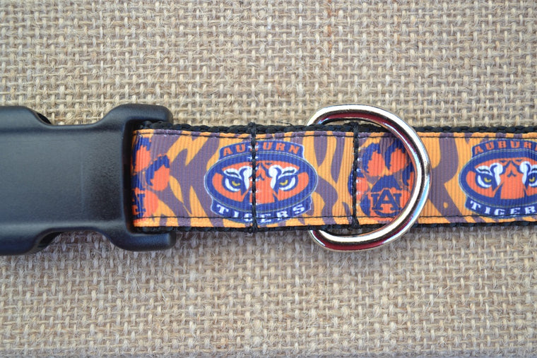dog collar auburn tigers