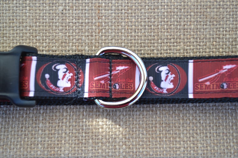 dog collar fsu seminoles block