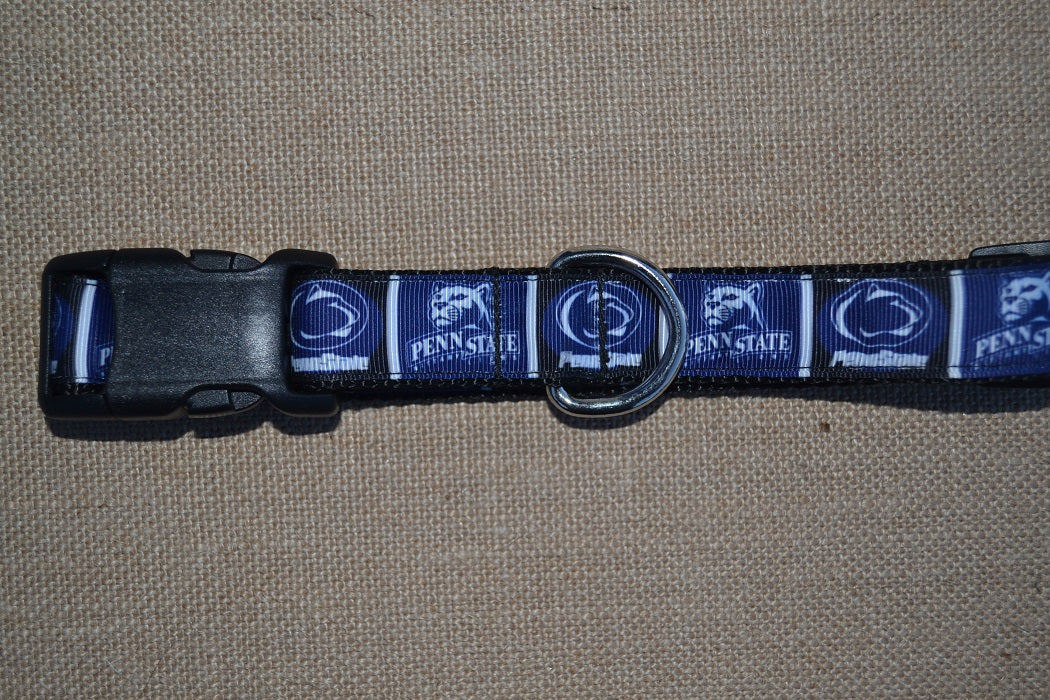 dog collar penn state nittany lions
