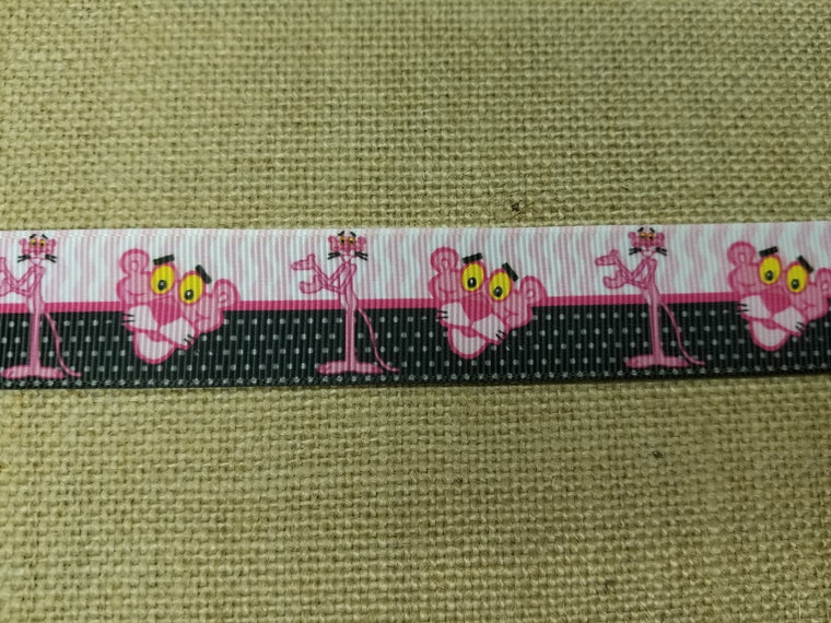 dog collar pink panther