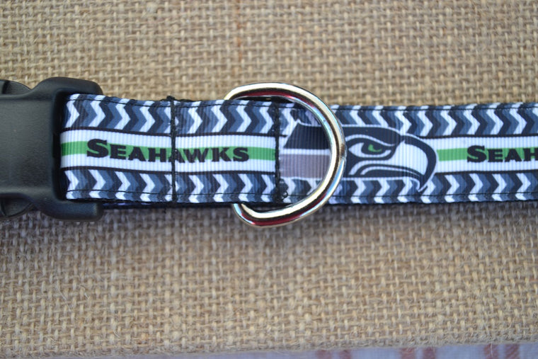 seattle seahawks nfl dog collar