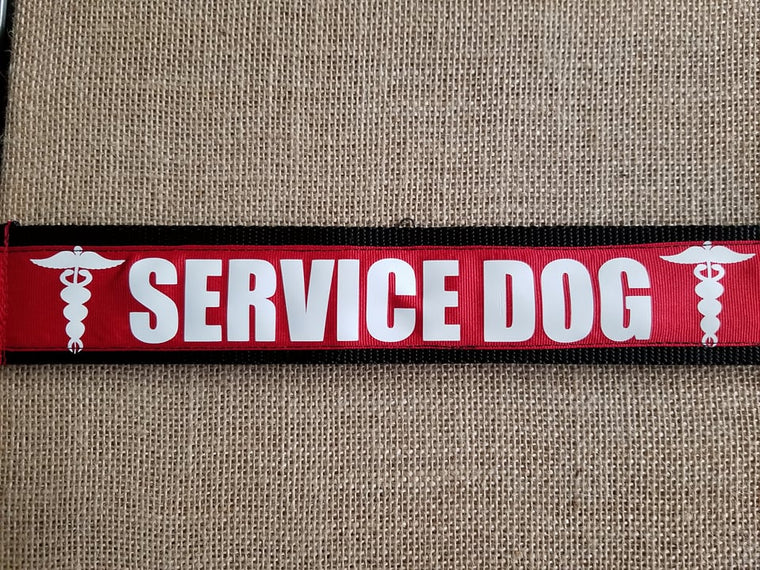 service dog collar support medical alert