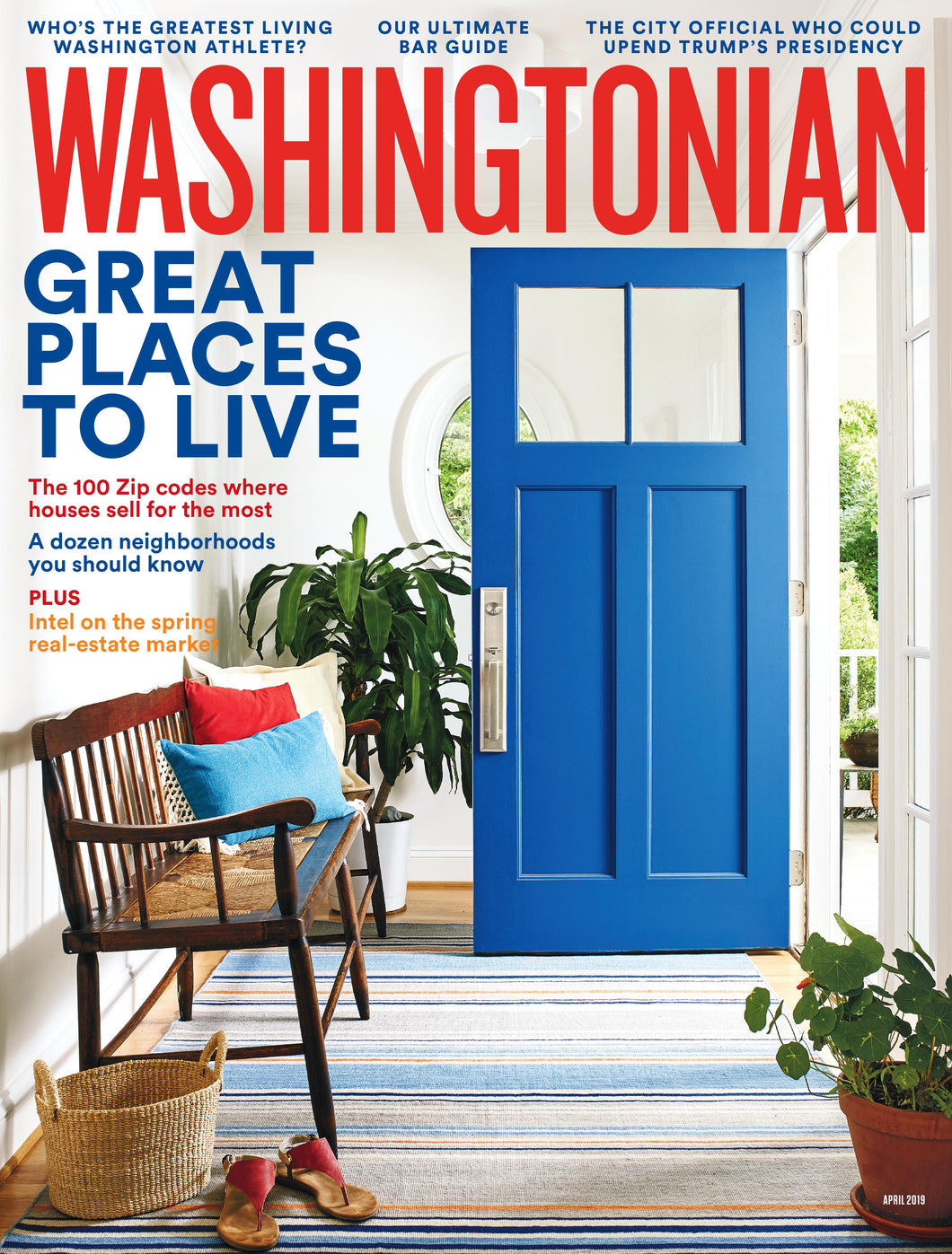 Washingtonian: April 2019 - Great Places to Live
