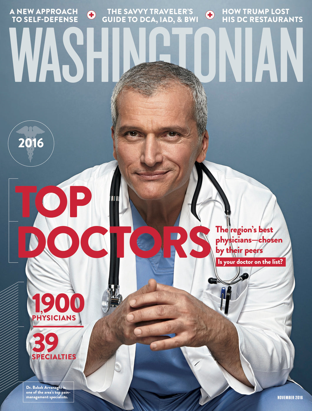 Washingtonian: November 2016 - Top Doctors