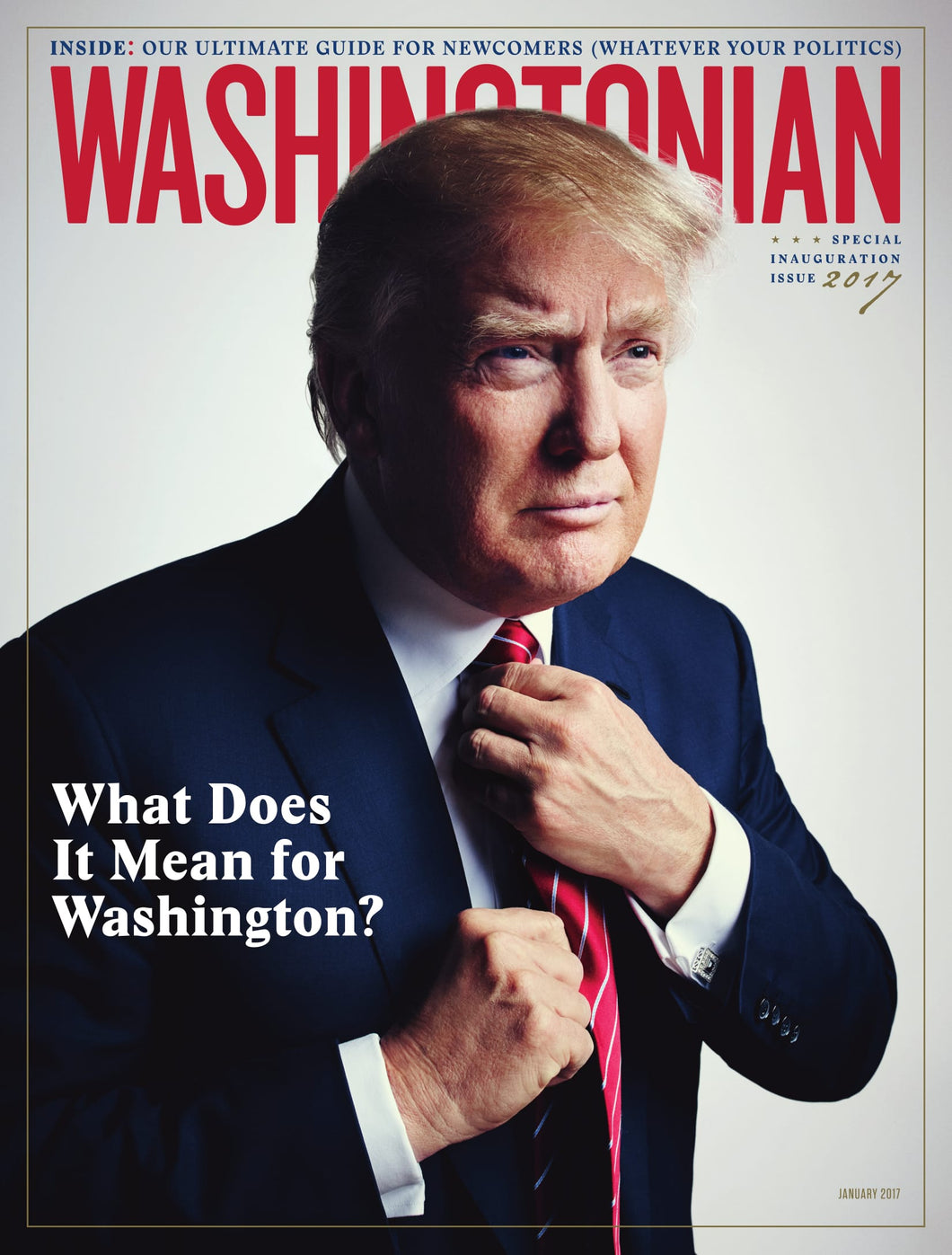 Washingtonian: January 2017 - Inauguration