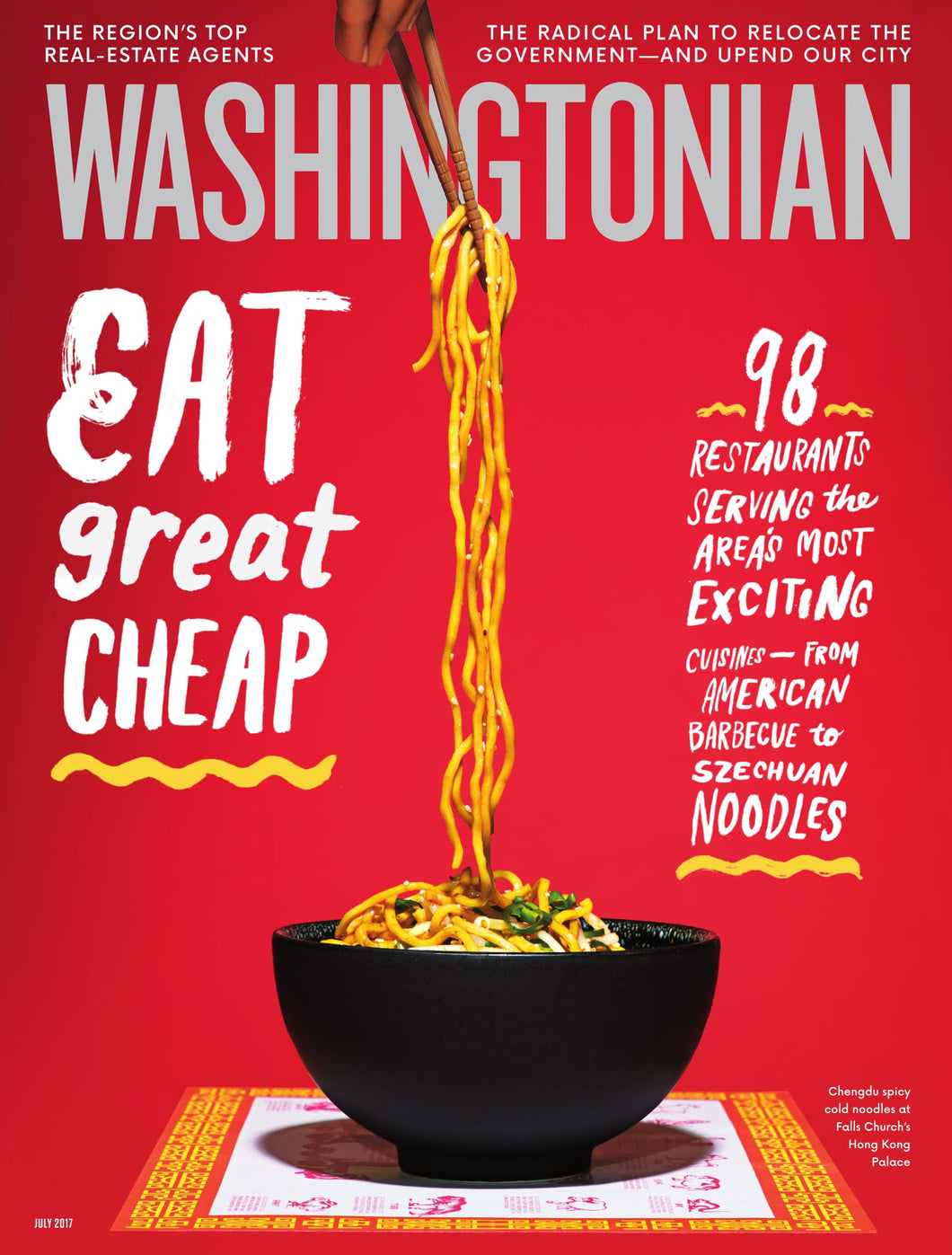 Washingtonian: July 2017 - Cheap Eats