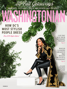 Washingtonian: September 2018- Get It All Done