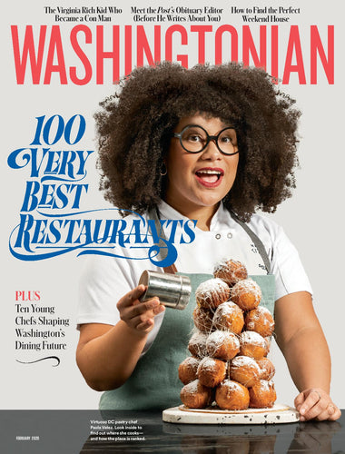 Washingtonian: February 2020 - 100 Very Best Restaurants