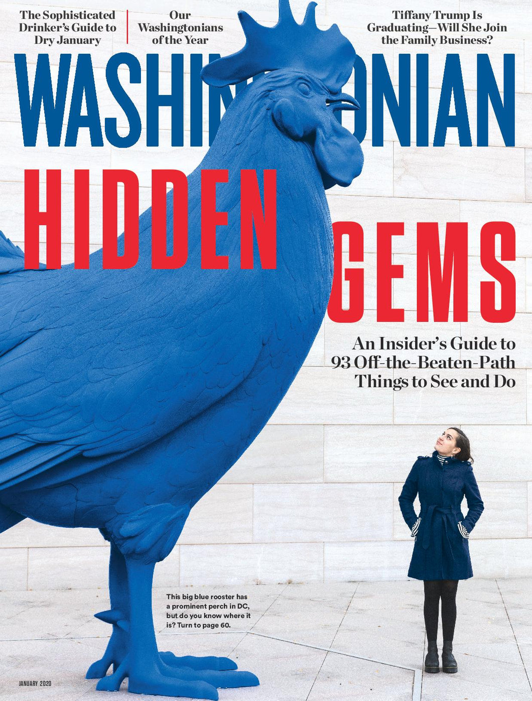 Washingtonian: January 2020 - Hidden Gems