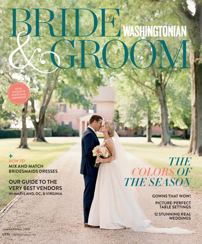 Bride & Groom: Summer 2018
