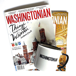 1 Year Subscription and Washingtonian Mug