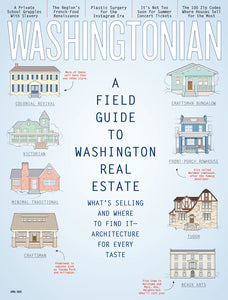 Washingtonian: April 2020 - A Field Guide to Washington Real Estate
