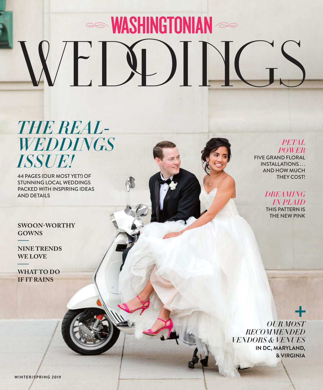 Washingtonian Weddings: Spring 2019