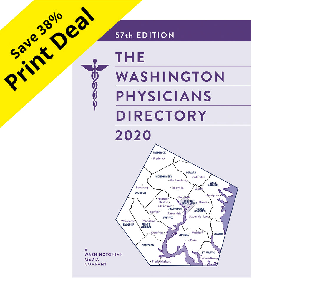 The 2020 Washington Physicians Directory (Preorder - Print Only)