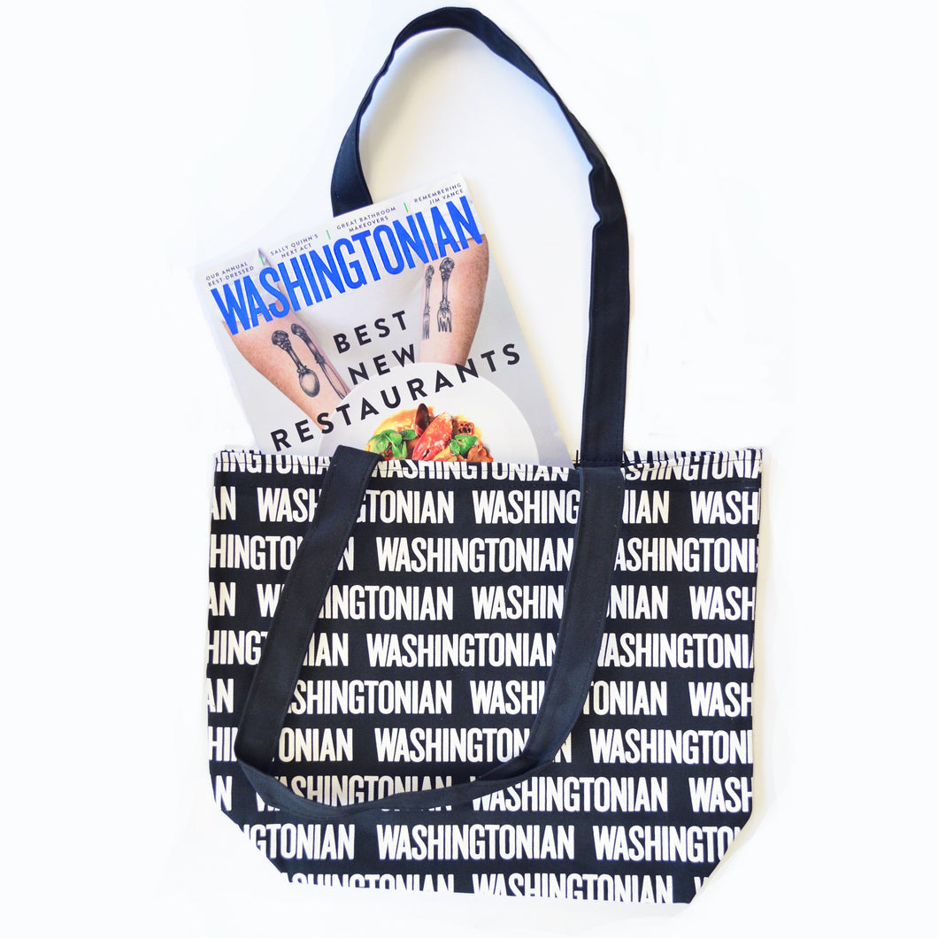 Washingtonian Tote Bag + 1 Year Subscription