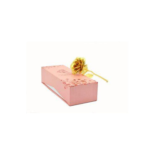 Lightahead 24K Gold Rose Foil Flowers Handcrafted with Gift Box the Ultimate Valentines Day Gift