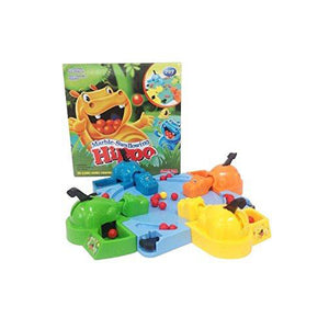 Lightahead Marble Swallowing Hippos Feeding Hippos Grabbing Toy Board Game for Kids