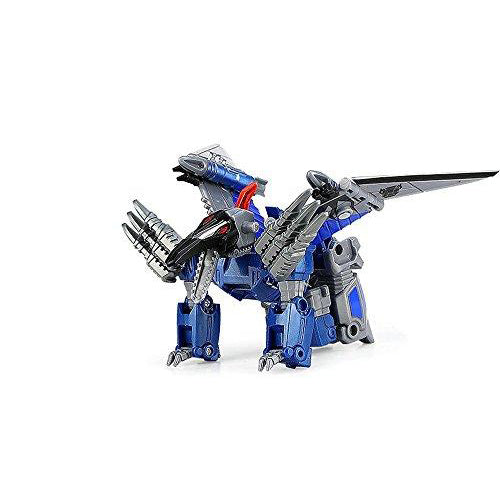 Lightahead Robot & Dinosaur Transformation Plastic Building Blocks Set Toy (Dinosaur Series)