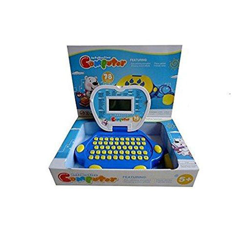 Lightahead Portable Kids Fun & Learning Toy Laptop Computer Featuring many Activities & Functions