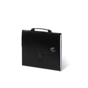 Lightahead LA-7557 Expanding File Folder with handle and insert button with 12 pockets