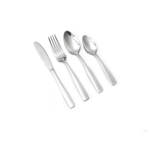 Lightahead Mirror Polished 24 pcs Stainless Steel Flatware Tableware Cutlery Set with Tray