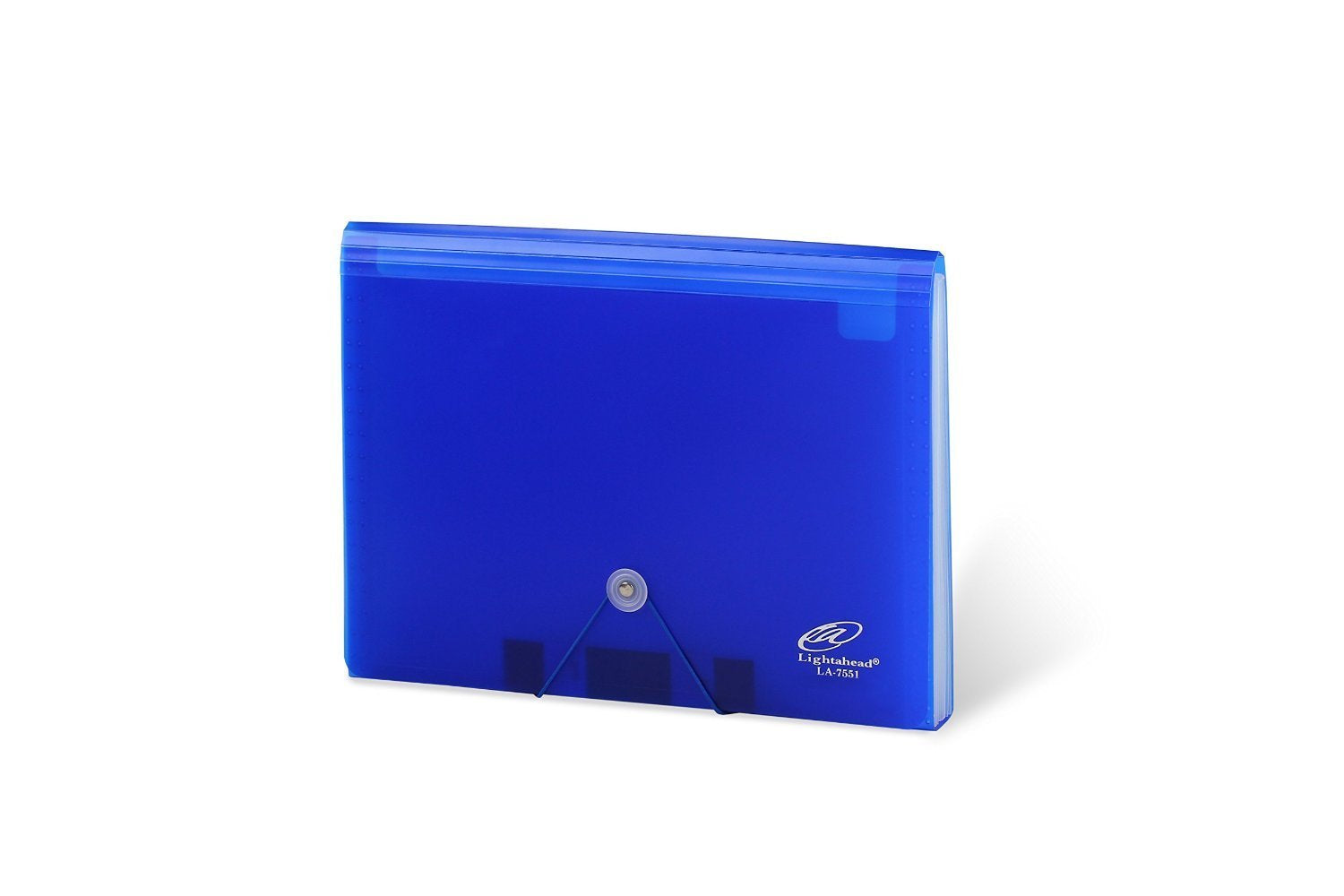 Lightahead LA-7551 Expanding file folder with 13 pockets Available in Colors Blue, Green (Blue)