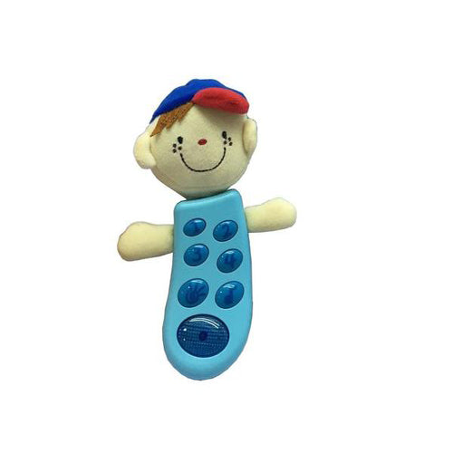 Lightahead Baby Cartoon Music Lamp-Pop mobile toy, Smart Musical Moble Phone Toy for Kids Education Toys with Music and Light