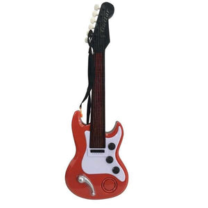 Lightahead Electronic Toy Guitar with Sound and Lights Electric Guitar With Preset Music And Vibrant Sounds .