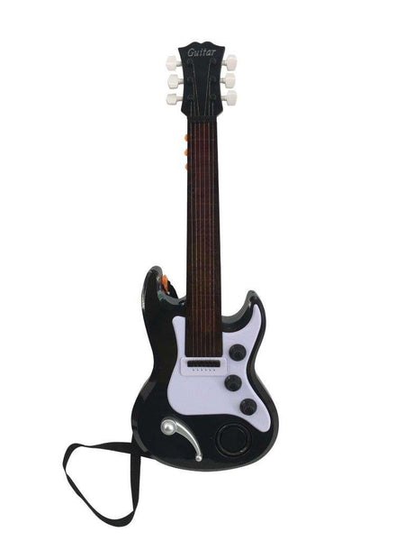 Lightahead 22 Inch Electronic Guitar For Little Rock Stars Electric Guitar With Preset Music And Vibrant Sounds Fun Musical Guitar (389-7)