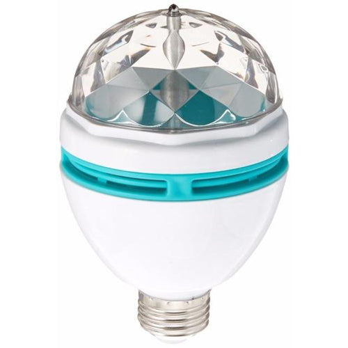 Lightahead LA005 Rotating LED Strobe Bulb Multi changing Color Crystal Stage Light