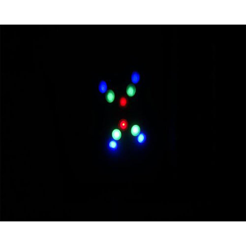 Lightahead LED Spot Light Multi-color and pattern changing with UL adapter for Christmas or Disco Lighting Show
