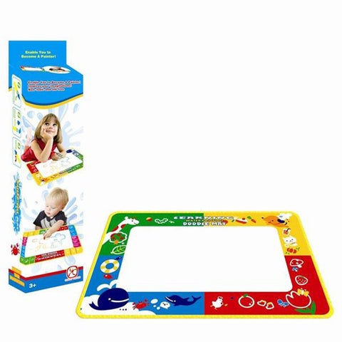 Lightahead All New Water Doodle Mat four Color Children Drawing coloring book with Magic pen