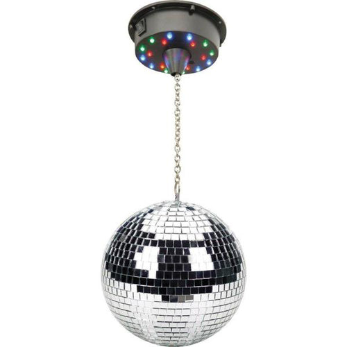 "Lightahead 6"" LED Mirror Disco Ball Party Light Disco Party DJ Light Effect Mirror Ball"