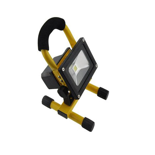 Lightahead 10w COB Rechargebale Flood Light Super Bright LED Work Light Lamp Rechargeable Flood Lights Lamp