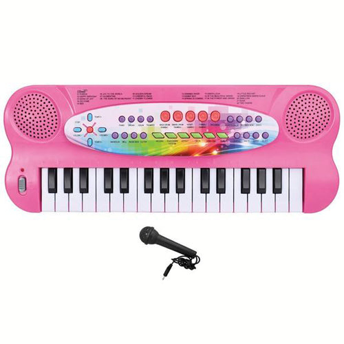 Lightahead 32-key Electronic Organ Keyboard Piano Portable Multi-function Kids Children Educational Toy - Pink