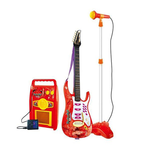 Lightahead Electric Guitar Play Set With amplifier speaker, microphone, and MP3