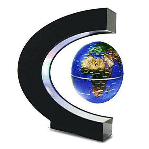 Lightahead Levitation Floating Globe Rotating Magnetic Mysteriously Suspended in Air World Map Great Fathers day, Christmas gift
