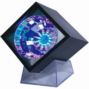 Lightahead LED Flashing Cube With Transparent Base and Color changing 47 LEDs for Disco party club