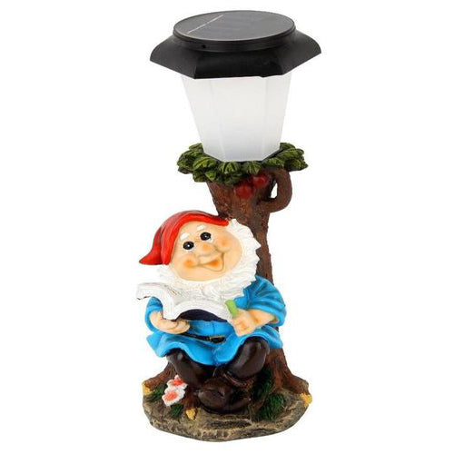 Lightahead Solar Powered Dwarf Garden Lights Elves Theme for Holiday Decoration