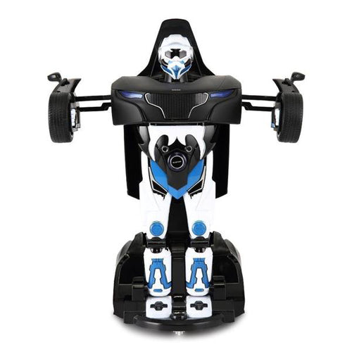 Lightahead Remote Controlled Transformable Robot Car, One key Transformation, The Perfect Gift For Kids! (BLACK)