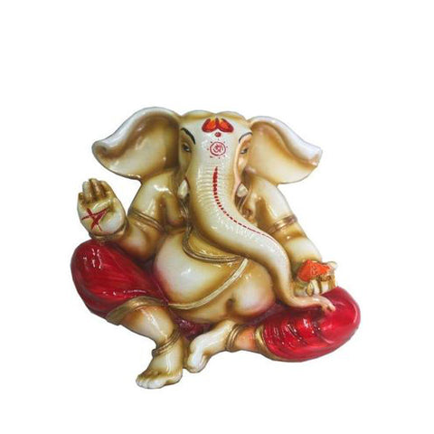 Lightahead Colored Wall Hanging Of Lord Ganesh Elephant Hindu God Statue  Made In India