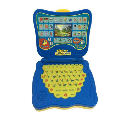 Lightahead Multifunction Educational Learning Machine Toy Mini Computer Tablet Kid's Early Developmental Toy Christmas Gift
